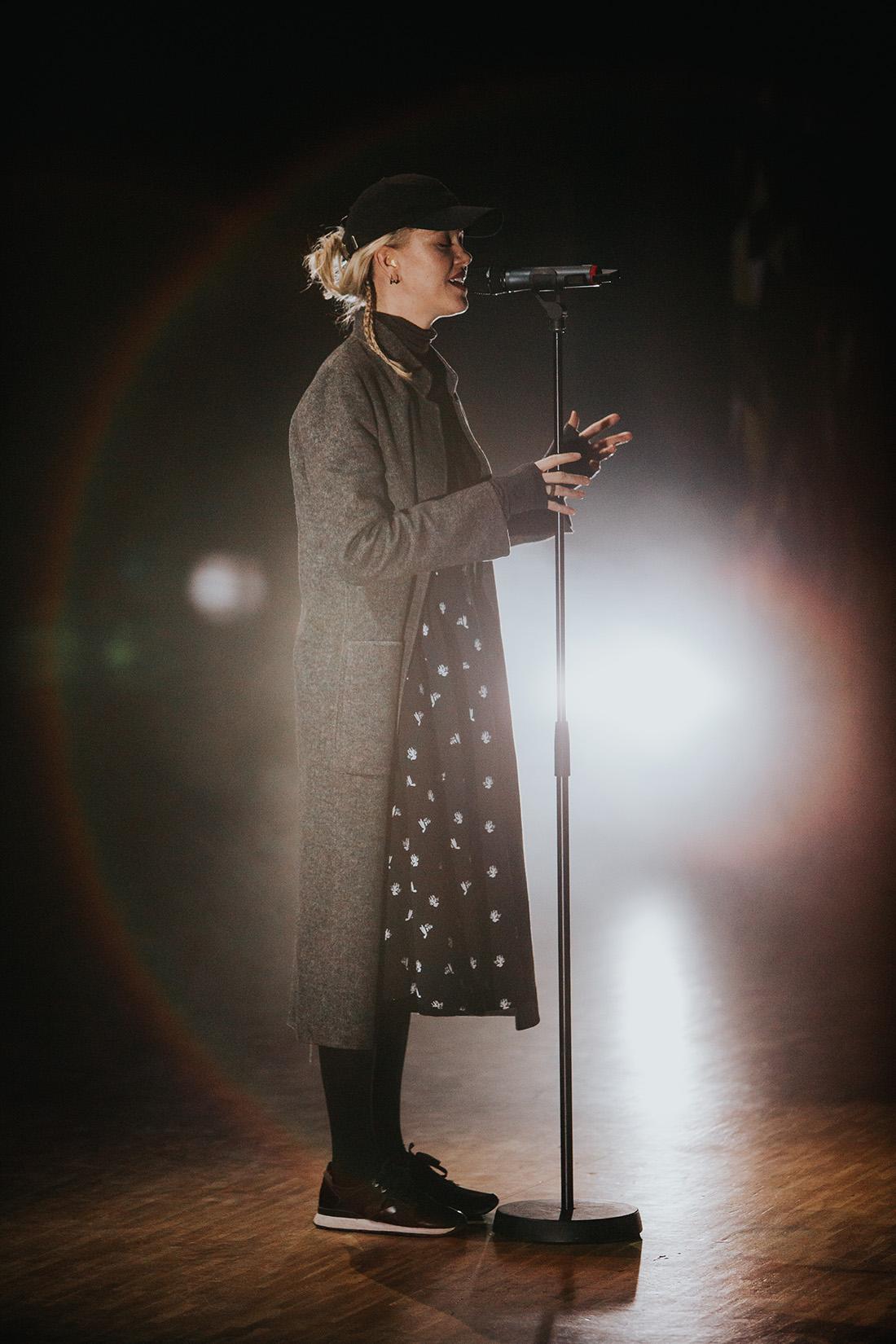 Ana Diaz på Guldstänk 2016 fotograf Henrik Mill Västerås Sverige