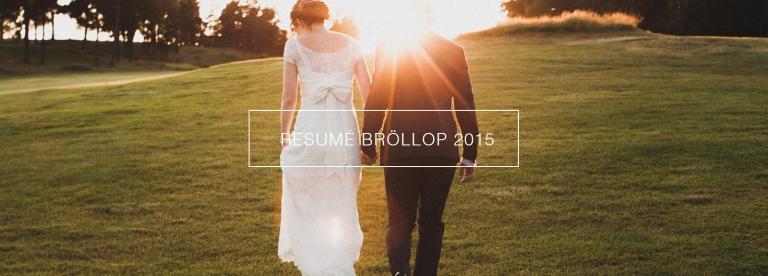 Bröllop 2015 Fotograf Henrik Mill
