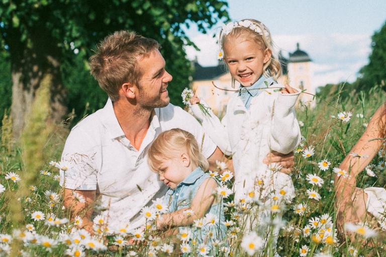 Jenny & Kristoffer Provfotografering - Familjefotografering 2014