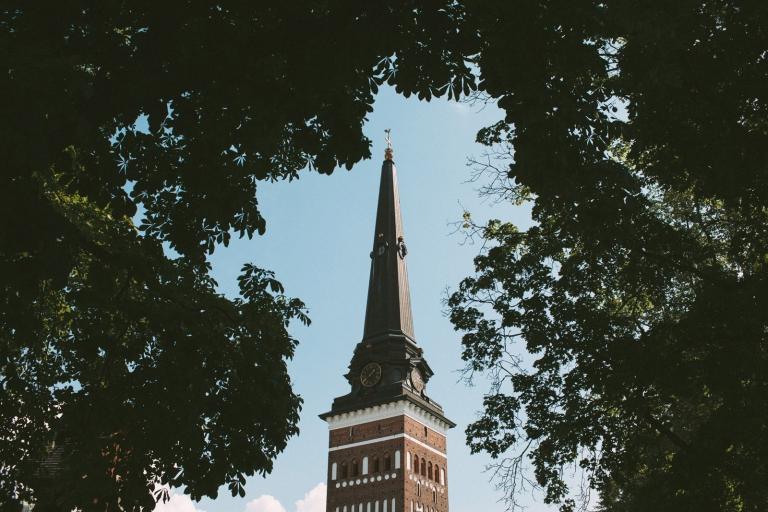 Bröllop, Sommar, Västerås, Domkyrkan, Västmanland, Porträtt, Natur, Fotograf Henrik Mill, Swedish, Wedding, Photographer
