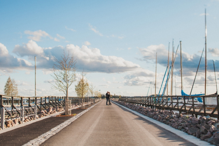 Provfotografering inför bröllop Västerås Öster Mälarstrand fotograf Henrik Mill