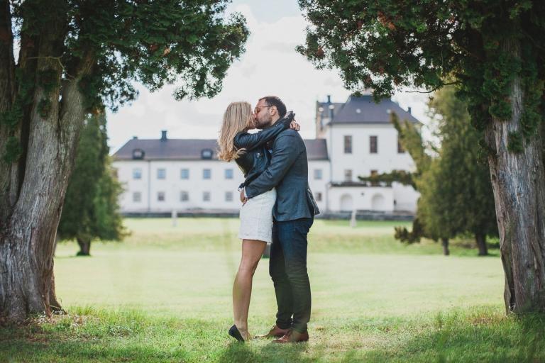 Möte inför bröllop Josefine och Ronny Fotograf Henrik Mill Västerås Sverige