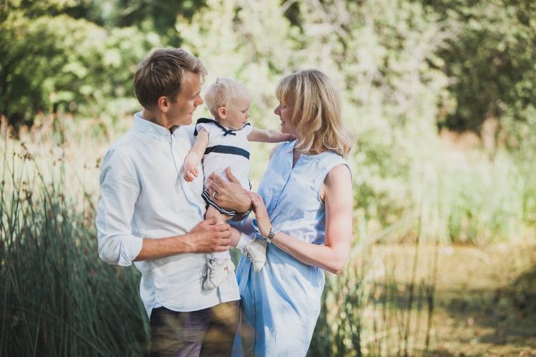 Familjefotografering Annie 1 årsfotografering Västerås Fotogr