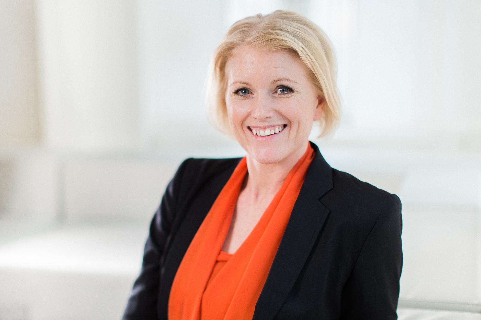 Ulrika Grönberg Företagsporträtt Swedbank Västerås