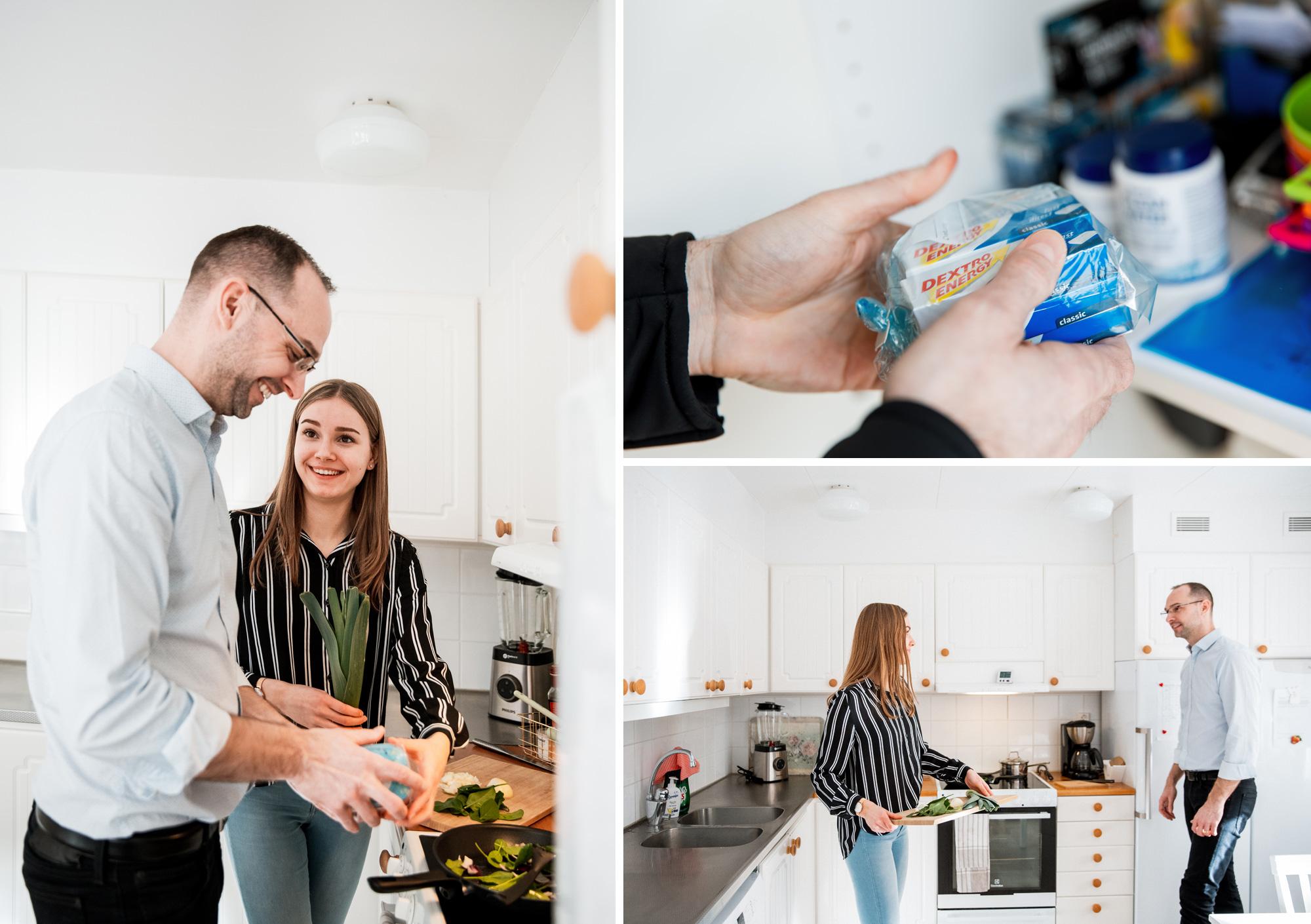 Prepping dotter med diabetes Diabetesförbundet artikel Fotograf Henrik Mill Enköping