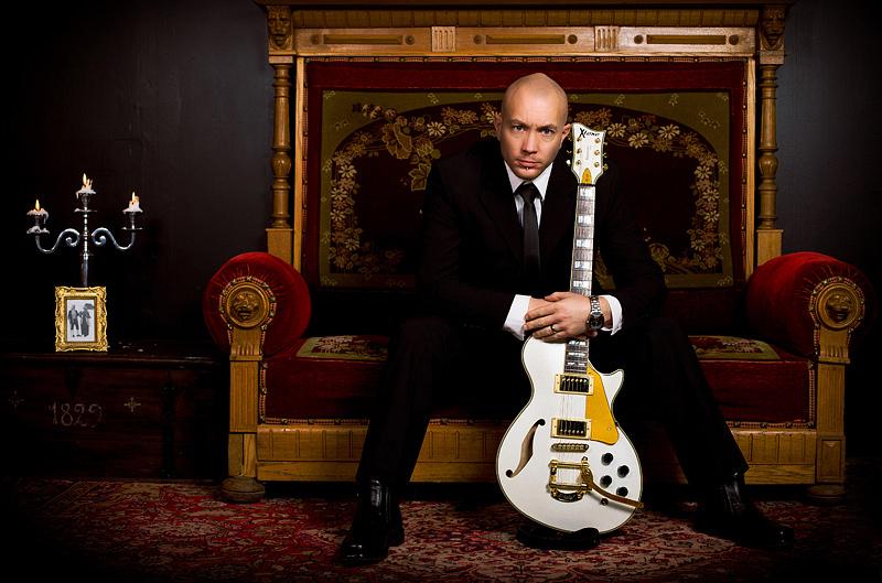 Carl Berglund gitarrist i Age of reflection